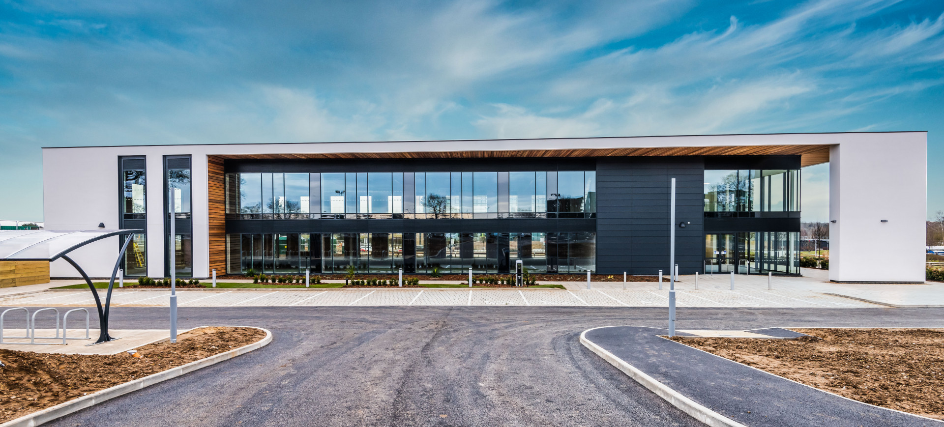 The Ella May Barnes building at Norwich Research Park