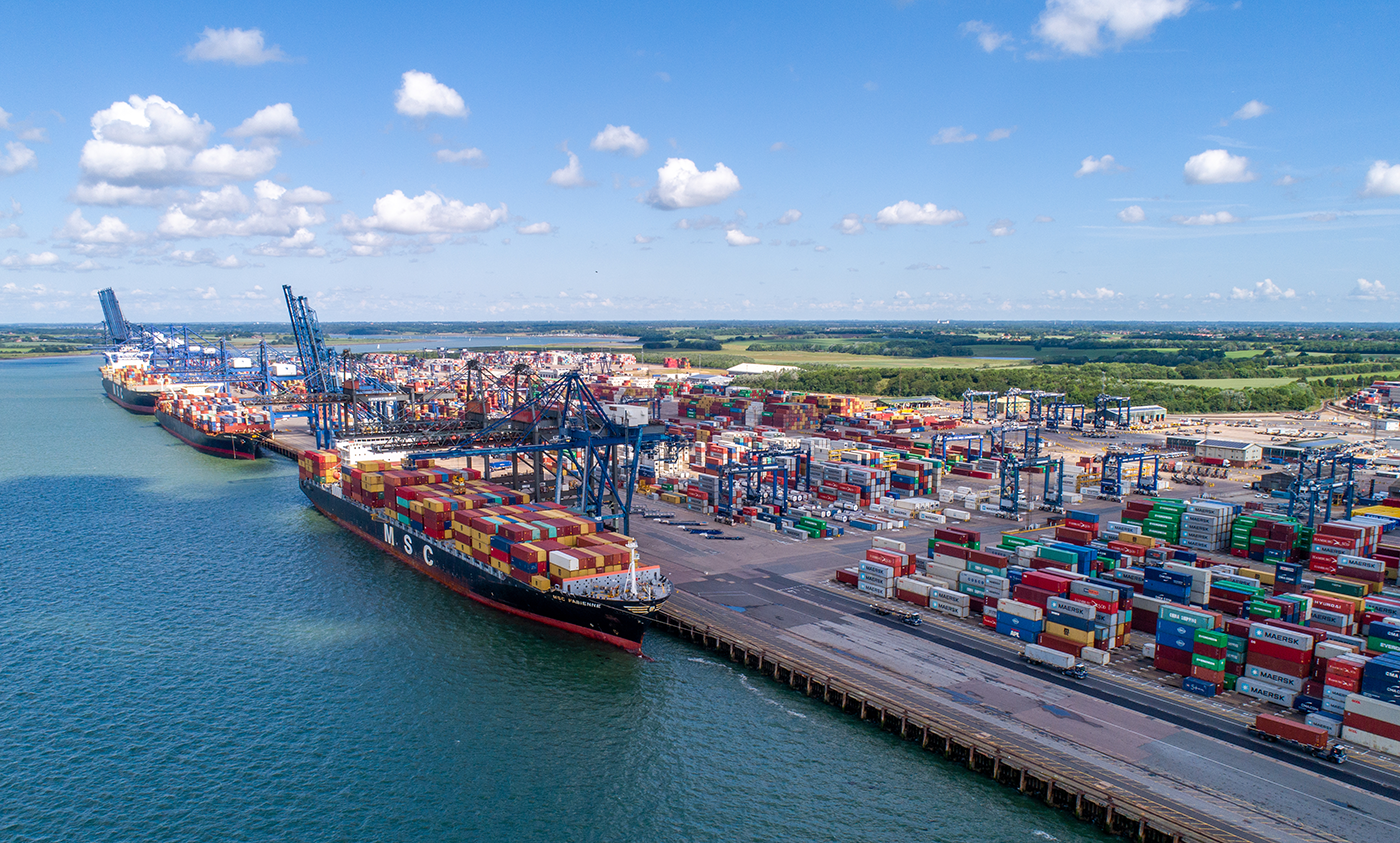 port of felixstowe Norfolk and Suffolk Unlimited