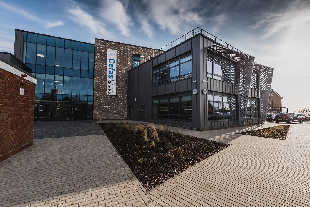 Cefas HQ in Lowestoft (Credit: Cefas)